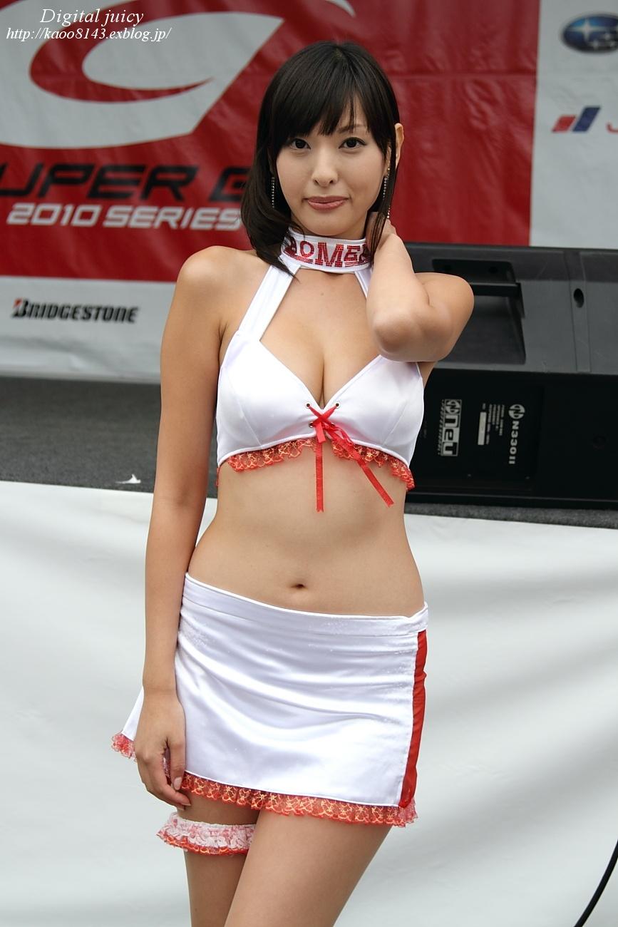 森下まゆみ さん(BOMEX RACE QUEEN)・・・パート2_c0216181_169781.jpg