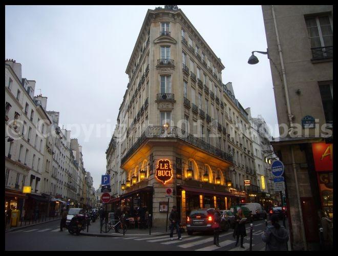 【パリ】街角のキャフェ・レストラン2月25日(サンジェルマン界隈)_a0014299_18323820.jpg