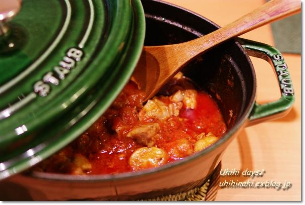 チキンのトマト煮でウチ飲みParty_f0179404_20283216.jpg