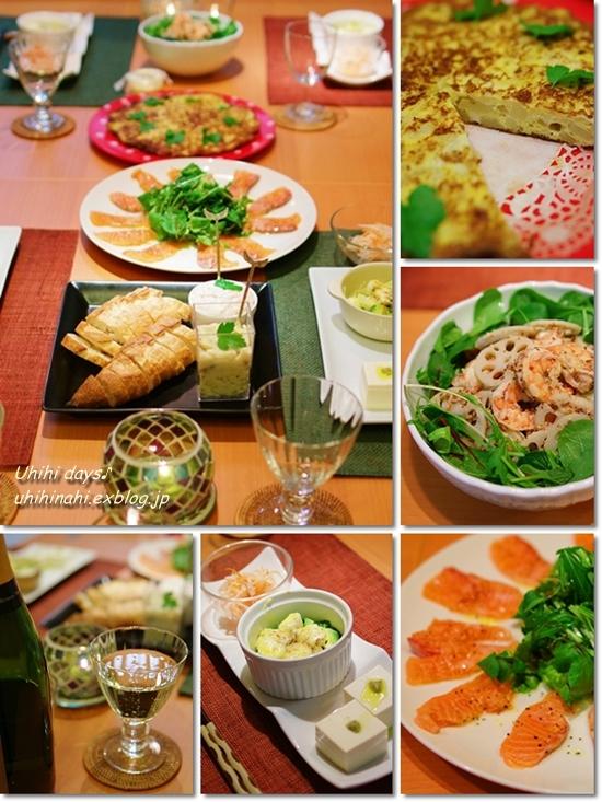 チキンのトマト煮でウチ飲みParty_f0179404_20321971.jpg