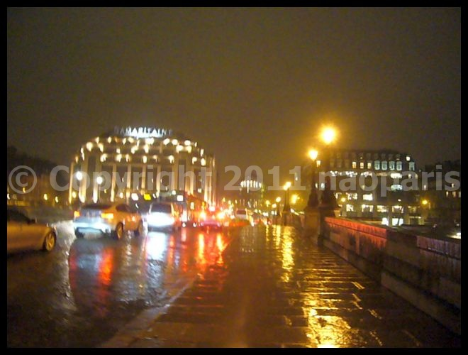 【PARIS】雨降るパリの夜・・・2月23日(パリ)_a0008105_20215568.jpg