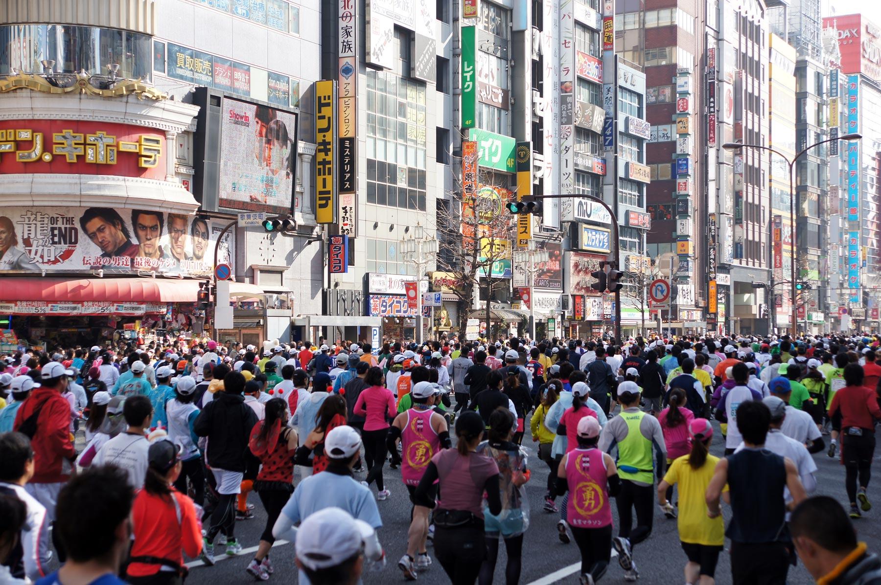 歌舞伎町 東京マラソン_e0216133_2255158.jpg
