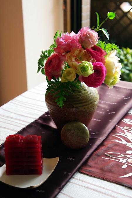 ひな祭りのテーブルコーディネート _d0145934_2133335.jpg