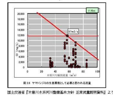 ヤマトシジミと塩化物イオン濃度 -19,000mg/Lでもシジミはいるはず-_f0197754_22373491.jpg