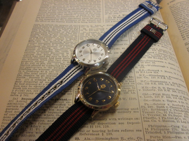 BROOKS BROTHERS ribbon belt watch _a0108963_132855.jpg