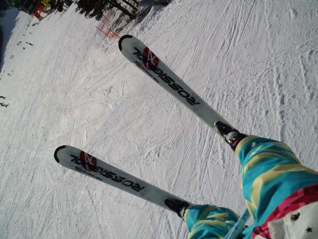 スキーの練習_c0151965_18254893.jpg