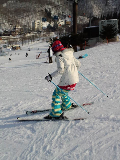 スキーの練習_c0151965_18272027.jpg