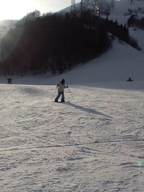 スキーの練習_c0151965_18284560.jpg