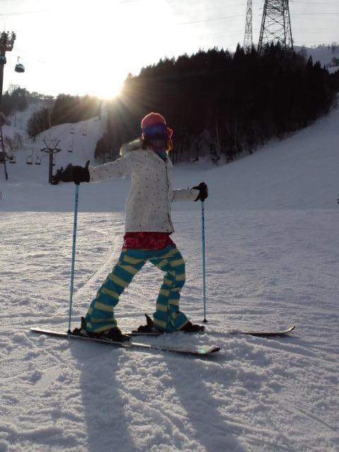 スキーの練習_c0151965_1834414.jpg