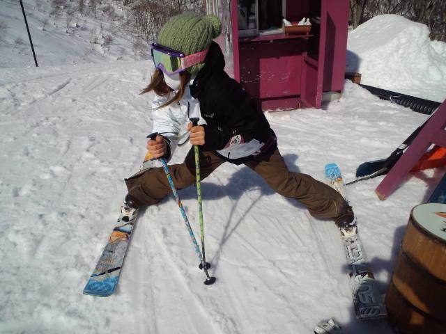 スキーの練習_c0151965_18351131.jpg