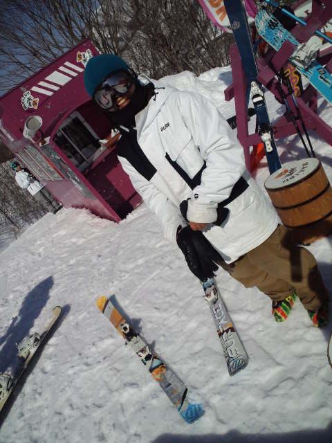 スキーの練習_c0151965_18425579.jpg