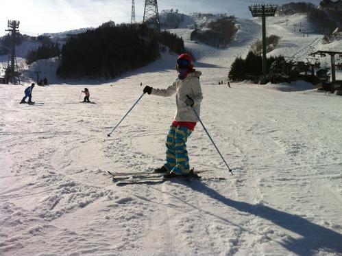 スキーの練習_c0151965_1852267.jpg