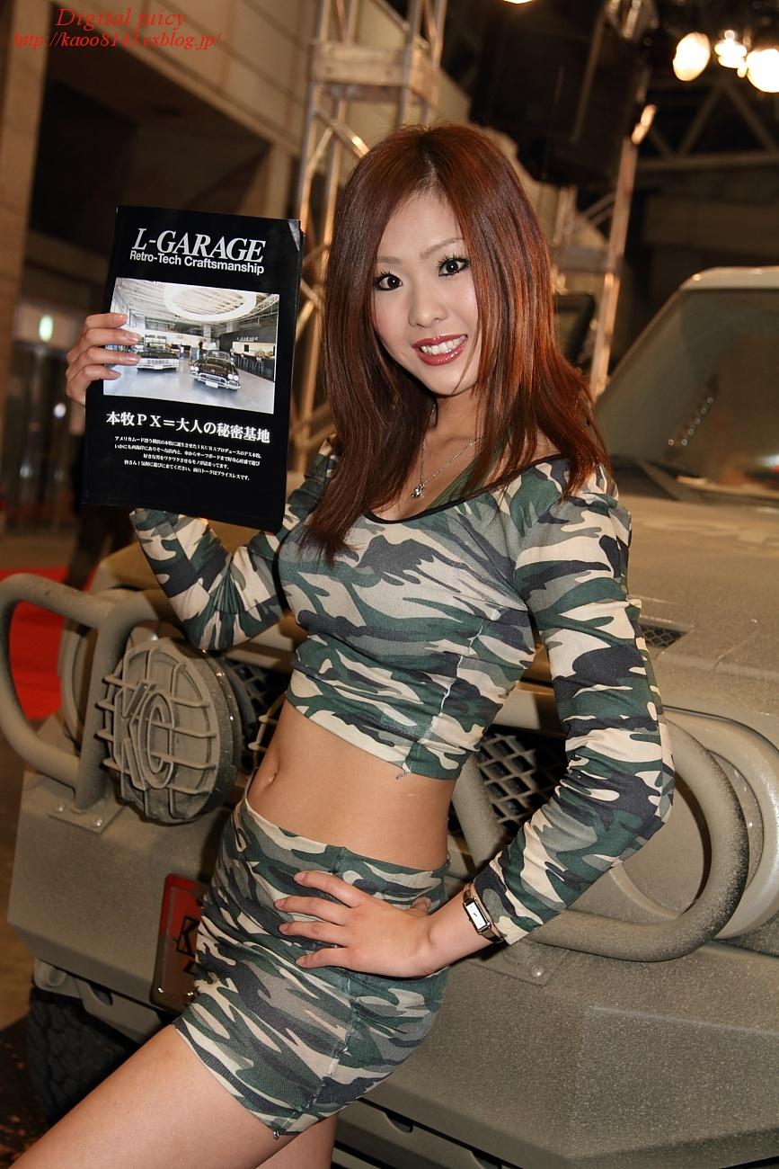 笠原奈菜 さん(L-GARAGE ブース)_c0216181_17315560.jpg