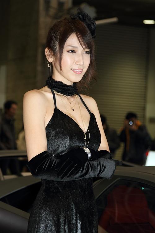 清水恵美 さん(VeilSide ブース)_c0216181_2154363.jpg