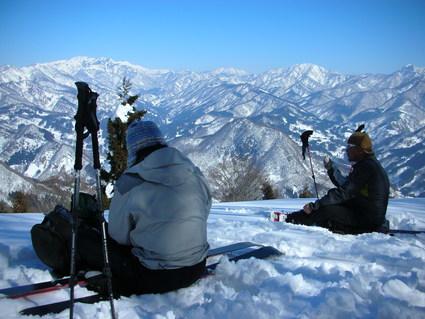 初BCスキー 裏ひよ・裏コルチナ_e0231387_23492346.jpg