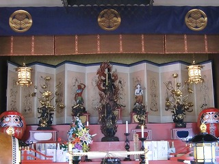 本堂 (不動寺③ 大奥ゆかりの寺)_c0187004_12593936.jpg