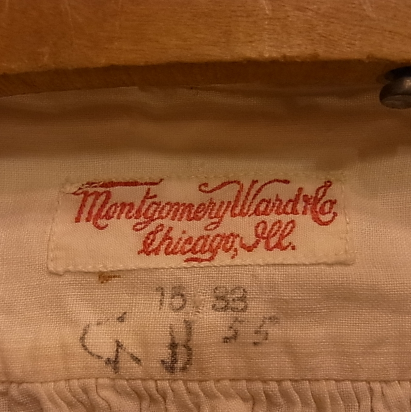 2/26(土)入荷商品!モンゴメリーワード!1910年代 シャツ!_c0144020_17584483.jpg