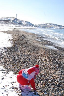 今年初のビーチコーミング♪_e0120026_16301136.jpg