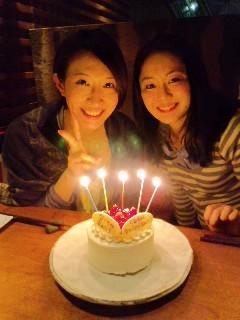 久美ちゃんのお誕生日♪_b0078127_2237686.jpg