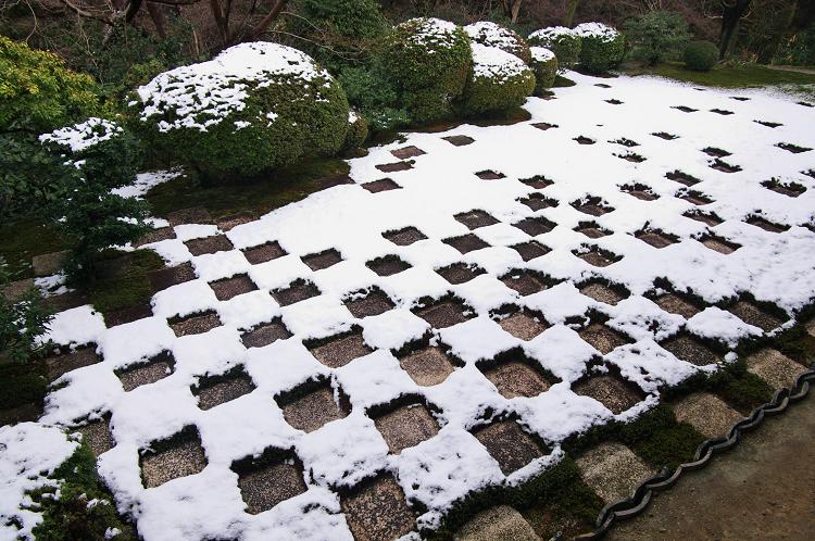 雪景・方丈庭園/八相の庭(東福寺)_f0155048_211610.jpg