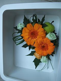 男性にもお花を贈りましょう~。_f0201565_1603669.jpg