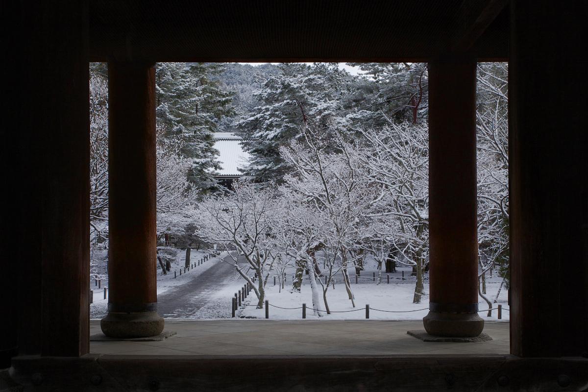 雪景色 <南禅寺>_f0021869_0162446.jpg