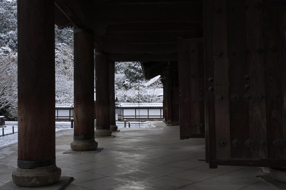雪景色 <南禅寺>_f0021869_0191534.jpg