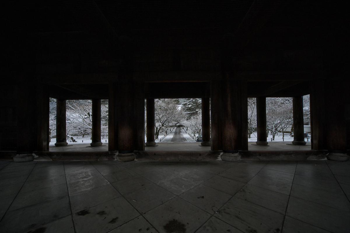 雪景色 <南禅寺>_f0021869_0204062.jpg