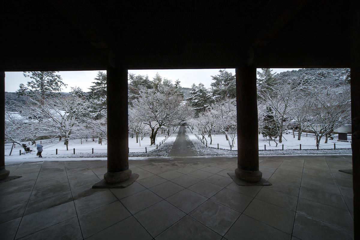 雪景色 <南禅寺>_f0021869_0213042.jpg