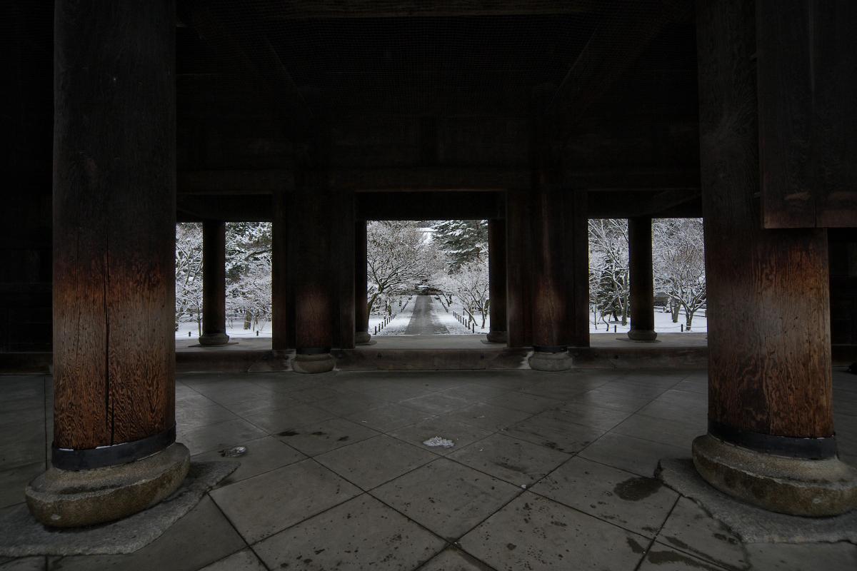 雪景色 <南禅寺>_f0021869_021545.jpg