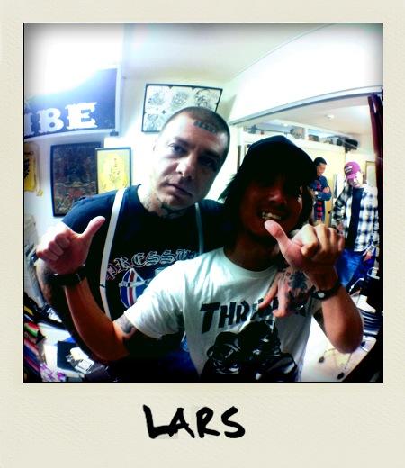LARS INK JAPAN TOUR 2011。。。_c0107574_8565734.jpg