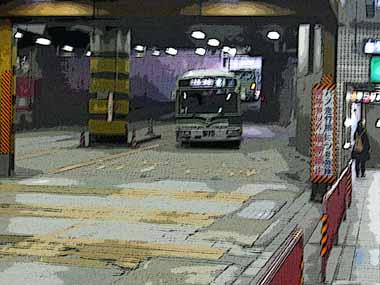 京都・北大路バスターミナル。_d0136282_19501584.jpg
