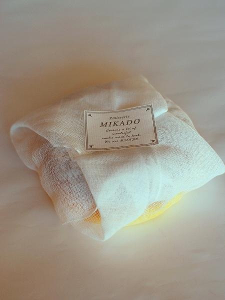 MIKADOの白いガトーショコラ_c0177814_14505981.jpg