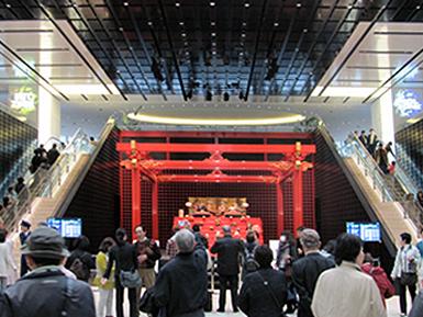 羽田空港国際線旅客ターミナルのひな飾り_c0167961_21414892.jpg