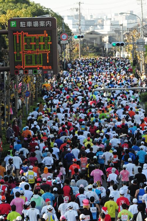 焼肉 隆 と 奈良マラソン-運動後に消費カロリー以上摂取注意-_a0194908_19561194.jpg