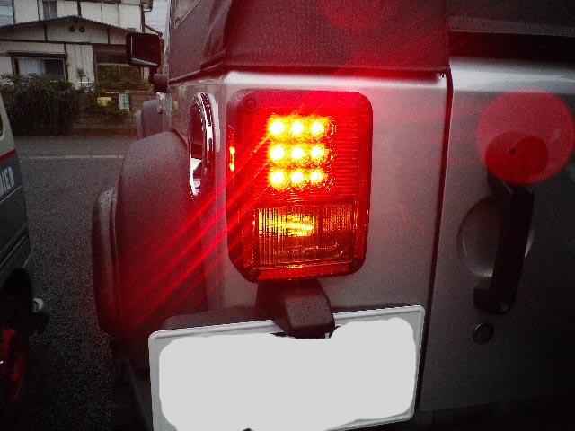 JK ラングラー カスタム  LEDテールランプ_b0123820_1648897.jpg