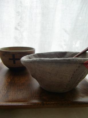 布のcafe bowl・・・♪_f0168730_13235791.jpg