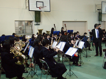 滋賀県立草津東高等学校卒業式 (2011.03.01) : NPO法人 自然の恵み