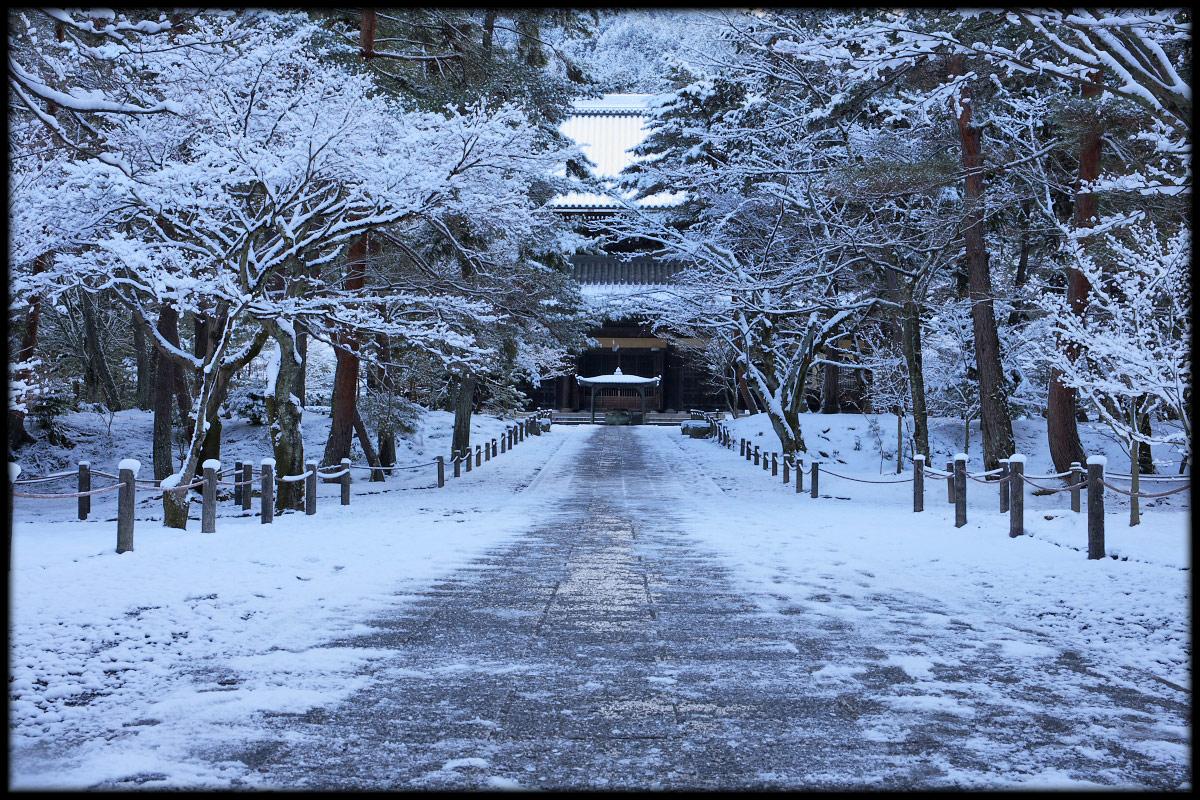 雪景色 <南禅寺>_f0021869_2337494.jpg