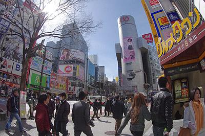 3月3日(木)今日の渋谷109前交差点_b0056983_13495030.jpg
