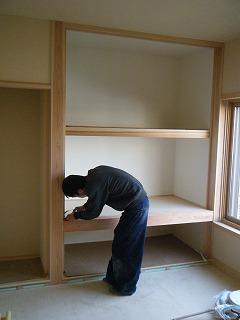 木製建具工事、給排水工事_d0205883_16353925.jpg