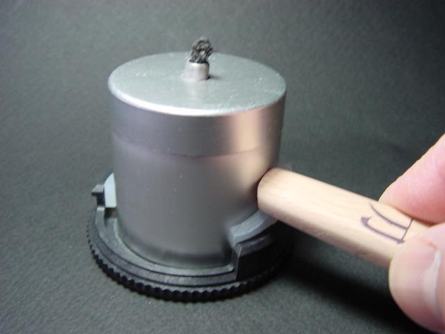 UCO MICRO Candle Lantern// オイル仕様の底下げ方法_f0113727_835843.jpg