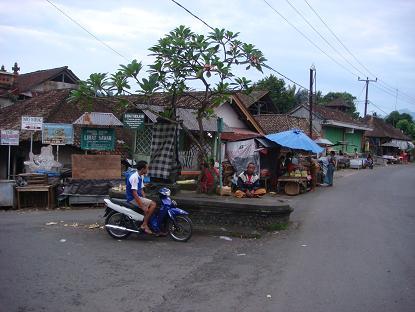 シドゥメン村までの道のり サトリア~シドゥメン村市場 Satria - Pasar Sidemen_a0120328_1125018.jpg
