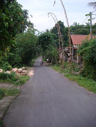 我が家までの道のり シドゥメン村市場~我が家まで Pasar Sidemen - Rumah _a0120328_1526521.jpg