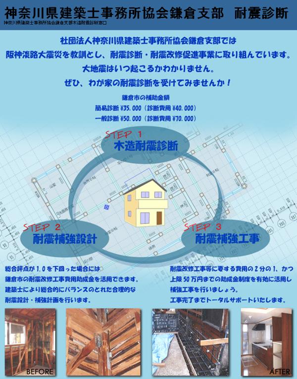 神奈川県建築士事務所協会鎌倉支部 耐震診断_c0126647_20473344.jpg