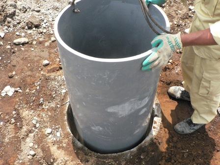 建物のベランダ下の既設井戸を使用可能にしました。_b0170161_1726491.jpg