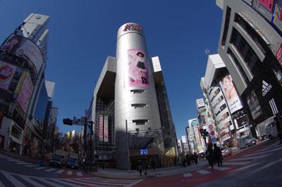 3月4日(金)今日の渋谷109前交差点_b0056983_1183165.jpg