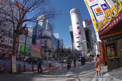 3月4日(金)今日の渋谷109前交差点_b0056983_119466.jpg