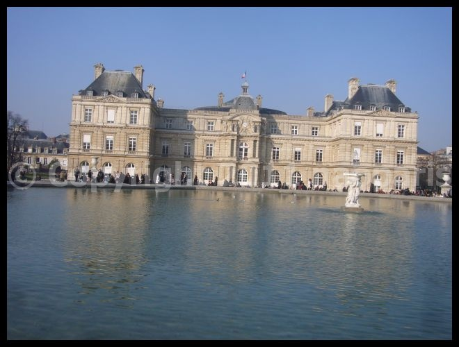 【パリ】Jardin du Luxembourgリュクサンブルグ公園3月4日(PARIS)_a0008105_20372517.jpg