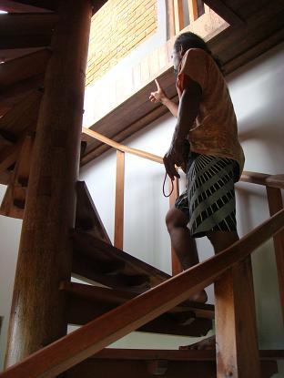 サワ・インダー・ヴィラ 「2階 西 ツインルーム シャワー付のお部屋」 Sawah Indah 2F West TWN wzSW_a0120328_22534912.jpg